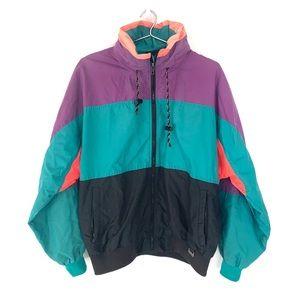 🔥Pro Gear Mens M Snow jacket Vtg 80s color block
